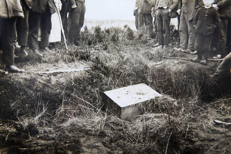 Na vijf spannende dagen werd het tabernakel op 10 mei 1925 teruggevonden. Beeld Archief Mensen
