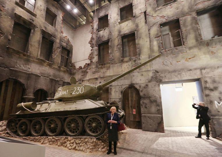 Eind januari kon het publiek alvast een kijkje nemen in het museum. Beeld AP