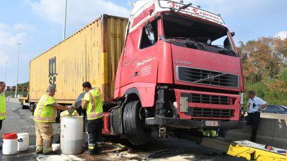 Trucker sterft na klapband op E19