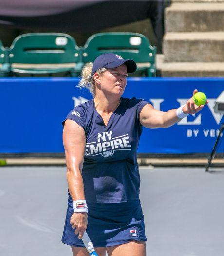 Kim Clijsters toujours au repos, son équipe qualifiée pour les playoffs