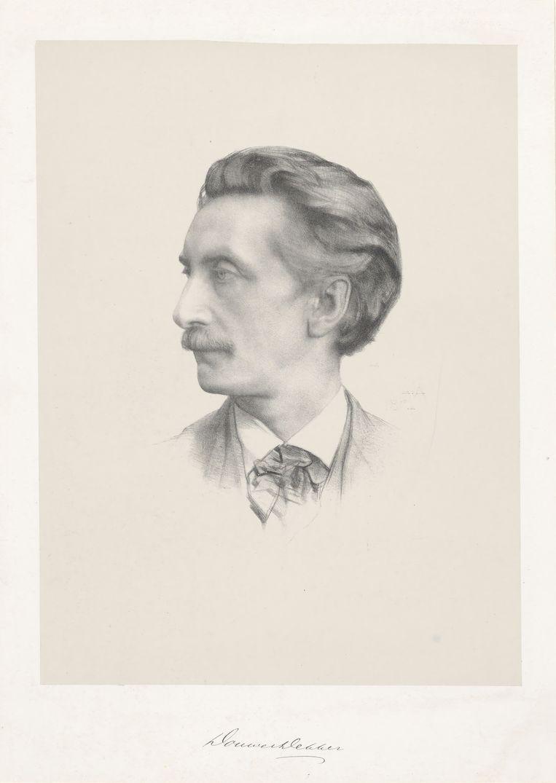 August Allebé, portret van Eduard Douwes Dekker alias Multatuli (1874). Beeld Getty