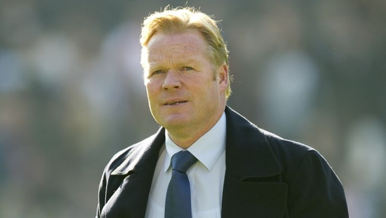 Feyenoordtrainer Ronald Koeman. Beeld anp