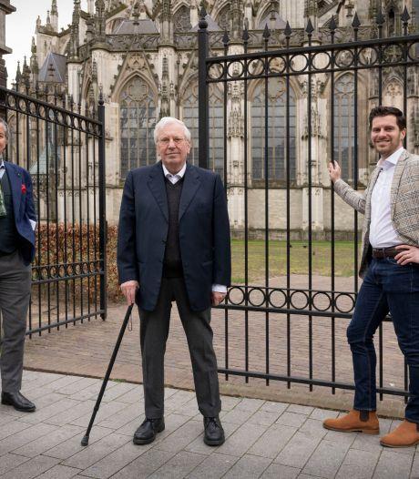 Van terras naar grafkelder: vader en zoon hebben vergevorderde plannen voor tuin Sint-Jan