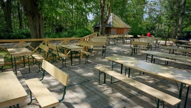 Nieuwe guinguette geopend in Wolvendaelpark in Ukkel