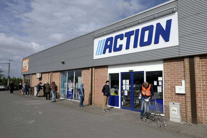 Magasin Action (archive d'illustration)