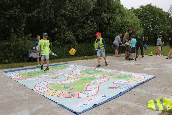 Het voedselspel in Lendelede werd op de site van Hoeve Vercaemer gespeeld.