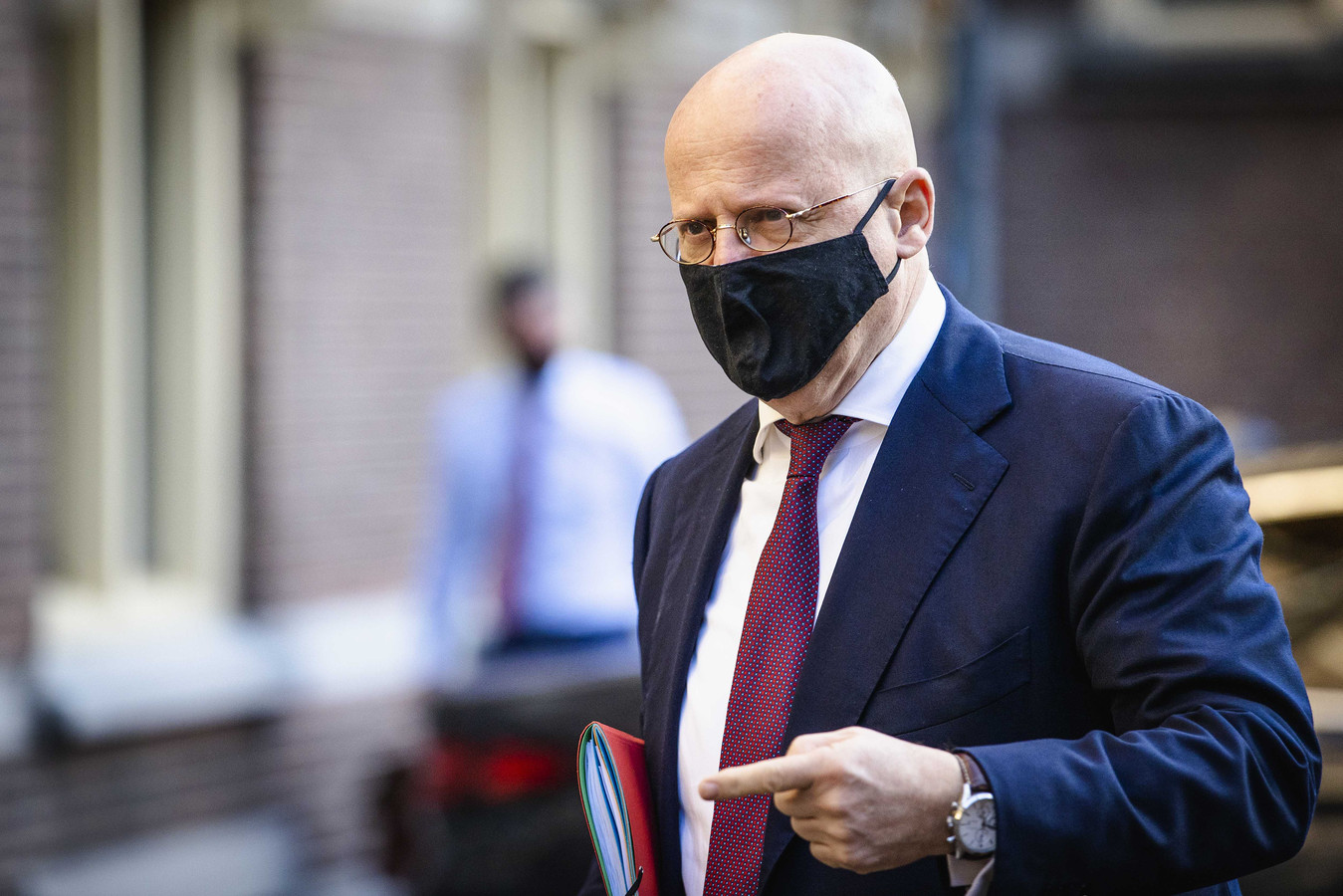 Ferdinand Grapperhaus, demissionair minister van Justitie en Veiligheid