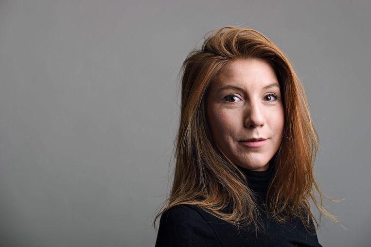 De Zweedse journaliste Kim Wall. Beeld AFP
