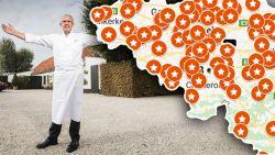 IN KAART. Michelin deelt weer sterren uit, voor het eerst in 40 jaar maar één driesterrenrestaurant in België