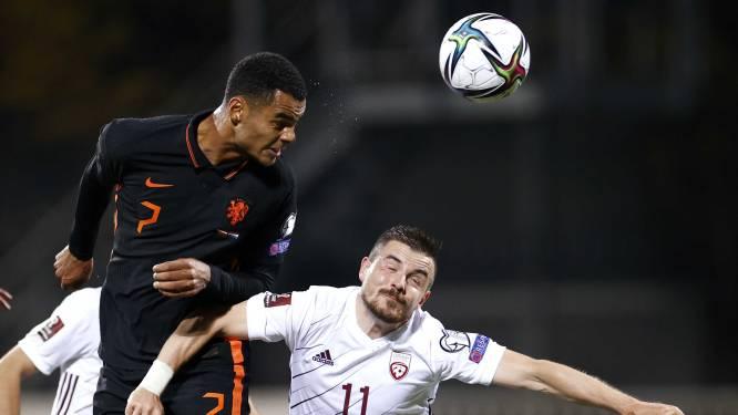 KNVB kaart optreden arbiter rondom hoofdblessure Gakpo aan bij de UEFA