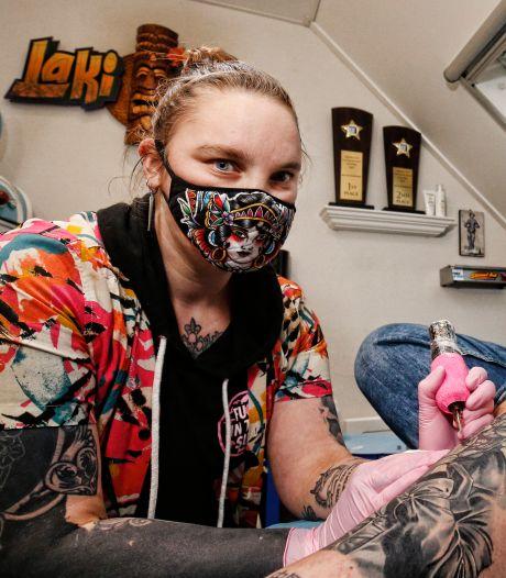 Shannon (27) hoort bij de beste tattoo-artiesten van de wereld
