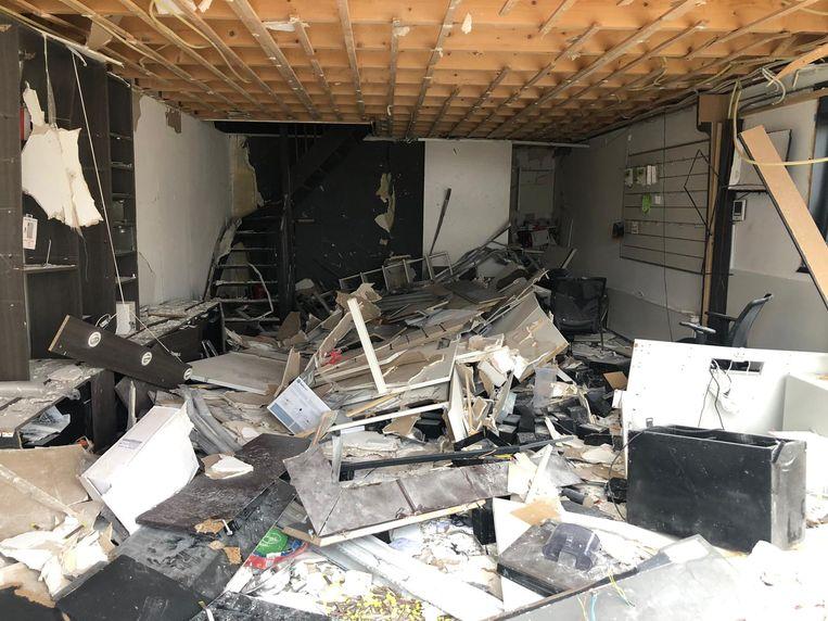 Explosie Keurenplein Beeld Het Parool