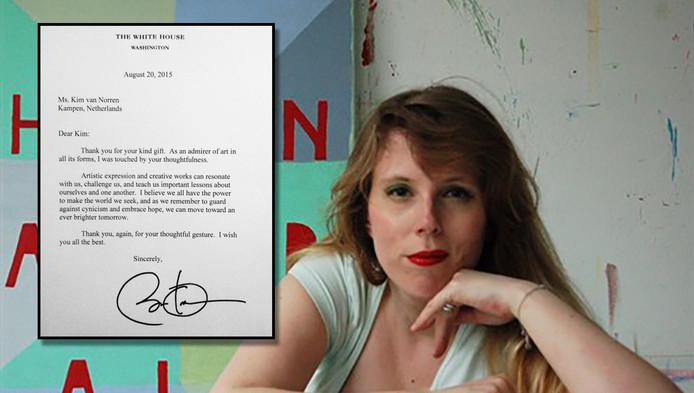 Kim van Norren. Inzet: De brief van Obama