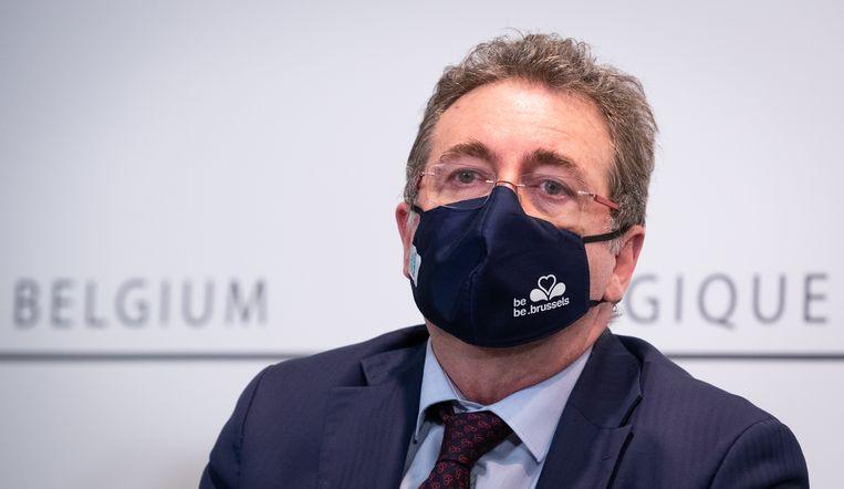 Brussels minister-president Rudi Vervoort (PS) Beeld BELGA