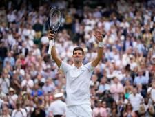 Djokovic blijft op koers voor 20ste Grand Slam, Federer voor 9de Wimbledon-titel