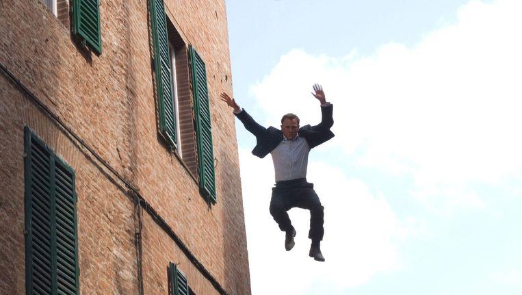 Daniel Craig als James Bond in 'Quantum of solace'. Beeld epa