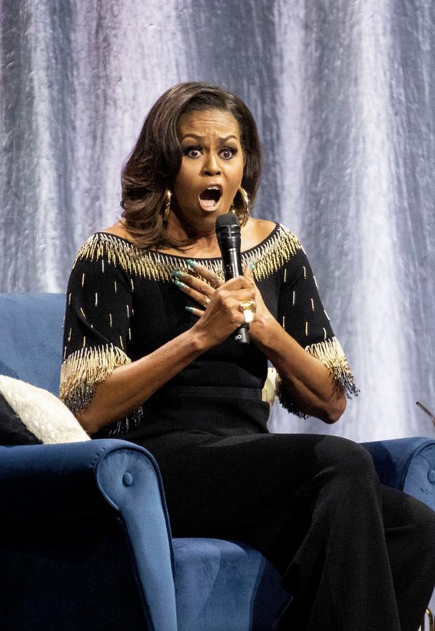 De 'Becoming: An Intimate Conversation With Michelle Obama'-tour deed deze week al de Britse hoofdstad Londen aan.