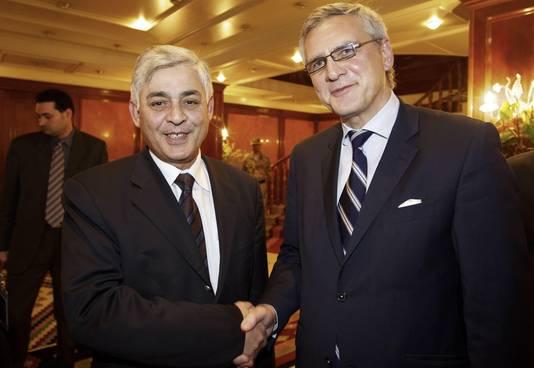 Kris Peeters ontmoette in december de Libische vice-premier Bouchakour Rheit in Tripoli.