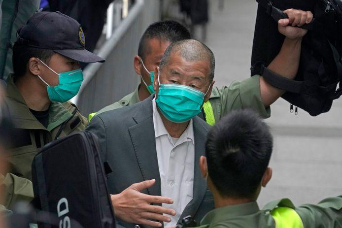 Lai staat momenteel al terecht voor het organiseren van één van de grote pro-democratische protesten die in 2019 plaatsvonden in Hongkong.