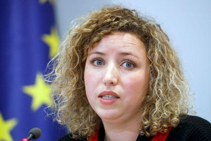 Sarah Schlitz, staatssecretaris voor Gelijke Kansen (Ecolo)