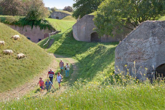 Fort Sabina bij Heijningen.