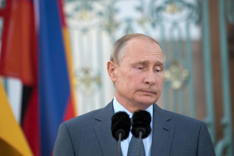 Russisch president Vladimir Poetin