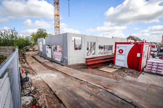 school de tandem bouwt nieuw gebouw te Westkerke