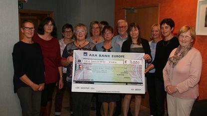 Vrouwenstemmen verdeelt 3.000 euro onder goede doelen