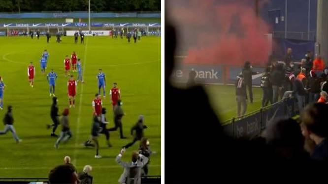 L'UEFA va enquêter après les incidents à la mi-temps de Genk-Cologne en Youth League