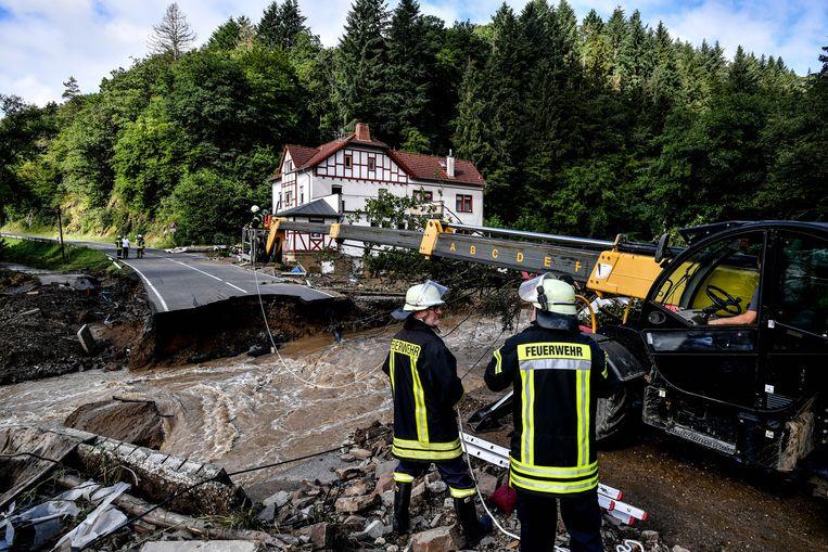 Schuld, Duitsland. Beeld EPA
