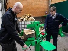 Strak ontwerp houtkloofmachine