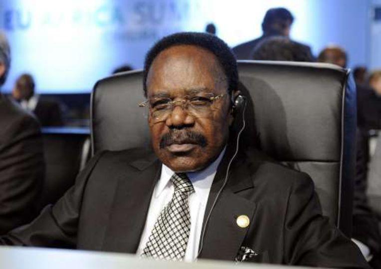 Omar Bongo Ondimba. Beeld