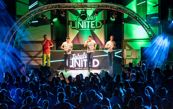 De Party Animals in 2018 tijdens het eerste Fabulous United in Uden.
