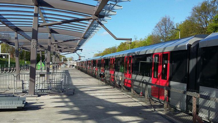 Station noorderpark Beeld Het Parool