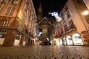 Lege straten in Straatsburg.