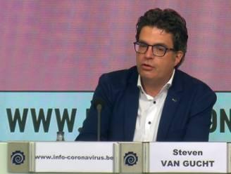 """Steven Van Gucht heeft enkel goed nieuws: """"Daling volgt meest optimistische voorspelling"""""""