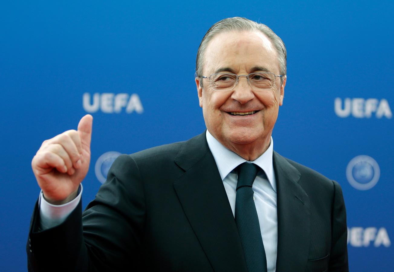 Florentino Pérez, voorzitter van Real Madrid en de Super League.