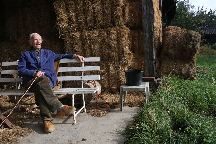 Hendrik Jan Wassink, geboren in 1925, is de oudste inwoner die meewerkte aan de Landschapsbiografie van Brummen.