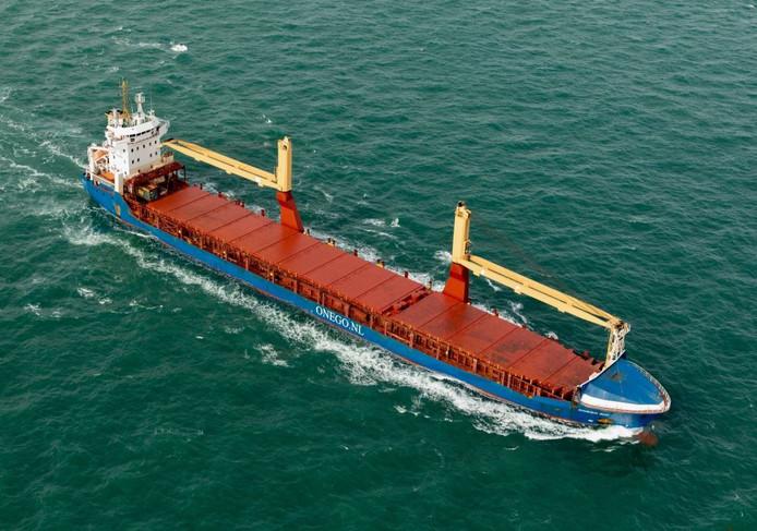 Het vrachtschip Onego Rio kreeg problemen met de hoofdmotor, zo'n 1000 kilometer voor de Ierse kust.