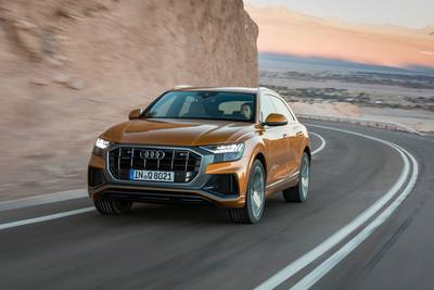 Audi Q8 is 's werelds eerste 'digitale' SUV