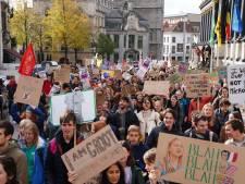 """1.400 klimaatspijbelaars in de Gentse straten: """"Tijd voor verandering"""""""