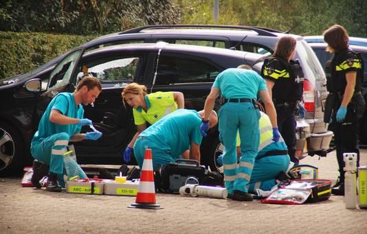 Bij het TweeSteden ziekenhuis in het Brabantse Waalwijk probeerden hulpverleners Linda te redden