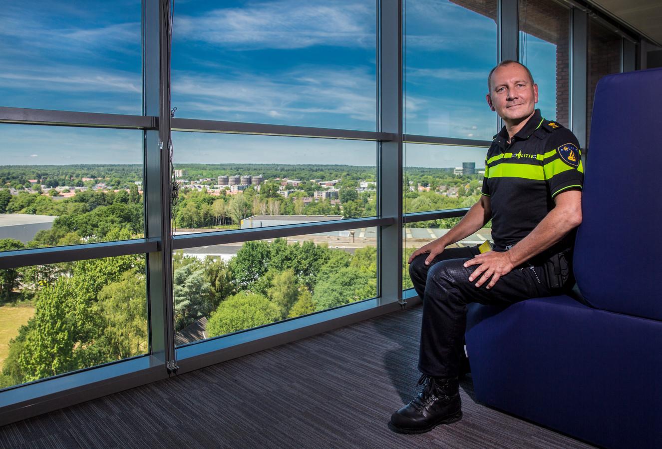 De hoogste baas van politie Oost Nederland: Pim Miltenburg.