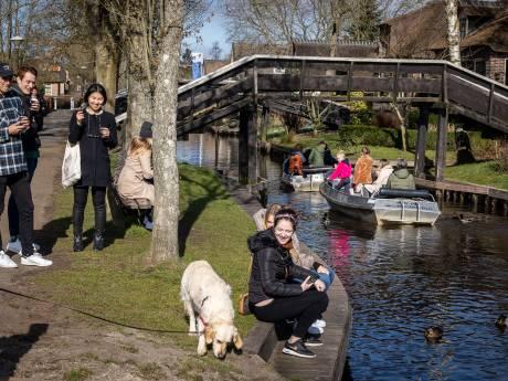 Ondernemers in Giethoorn staan te springen om terrassen open te gooien: 'Maar weet niet of het realistisch is'