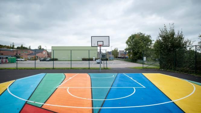 """Berlaars basketbalveldje krijgt kleurtje, skateterrein vernieuwd: """"Investeren in buitenruimtes voor jongeren is belangrijk"""""""