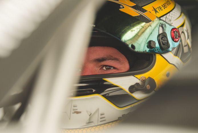 Glenn Van Parijs geconcentreerd voor de start van de race in Oostenrijk.