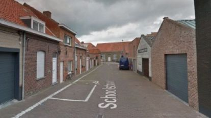 Stad voert eenrichtingsverkeer in Schoolstraat in Boezinge in