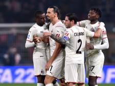 Serie A-spektakel: eigen goal Zlatan, twee rode kaarten Bologna en winst AC Milan