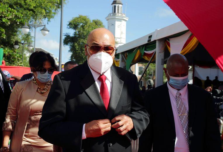 Voormalig president van Suriname Desi Bouterse. Beeld Hollandse Hoogte /  ANP