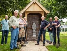Drentse Maria van 144 kilo schittert in nieuwe kapel in Harbrinkhoek: 'Vele handen werkten eraan'